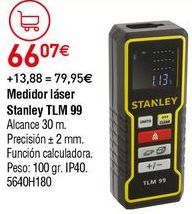 Oferta de Medidor láser Stanley por 66,07€