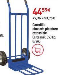 Oferta de Carretillas por 44,59€