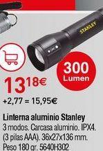 Oferta de Linterna Stanley por 13,18€