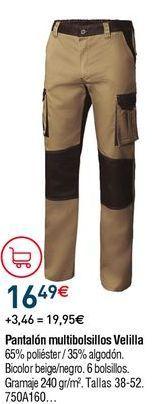 Oferta de Pantalones multibolsillos por 16,49€