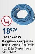 Oferta de Manguera por 18,77€