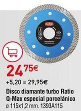 Oferta de Discos de corte Ratio por 24,75€