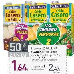 Oferta de Caldo Gallina Blanca por 3,29€