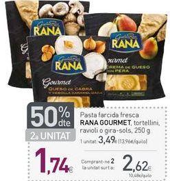 Oferta de Pasta fresca Rana por 3,49€