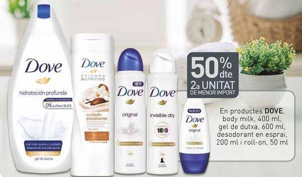 Oferta de Loción hidratante Dove por