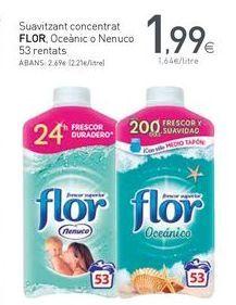 Oferta de Suavizante Flor por 1,99€