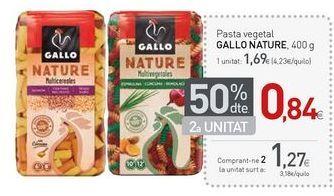 Oferta de Pasta Gallo por 1,69€