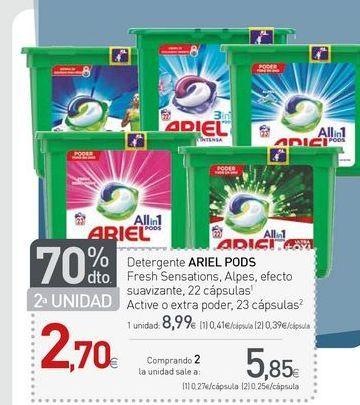 Oferta de Cápsulas de café Ariel por 8,99€