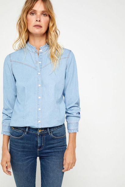 Oferta de Camisa vaquera confort fit por 24,99€