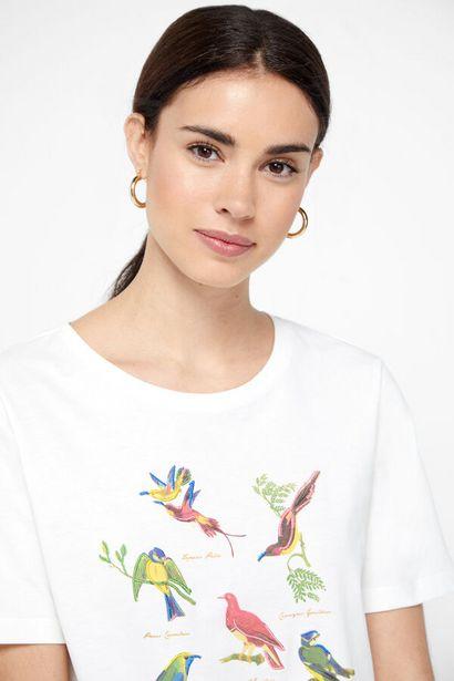 Oferta de Camiseta manga corta estampada por 5,99€