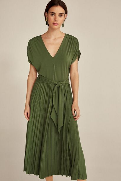Oferta de Vestido falda plisada por 59€