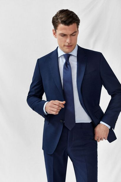 Oferta de Traje azul slim fit por 93,99€