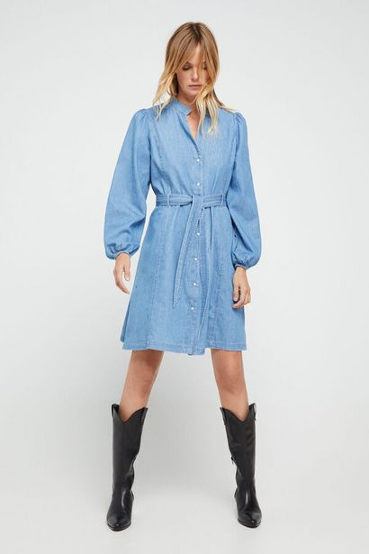 Oferta de Vestido camisero vaquero por 39,99€