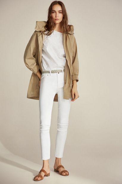 Oferta de Jeans skinny efecto cuero por 29€