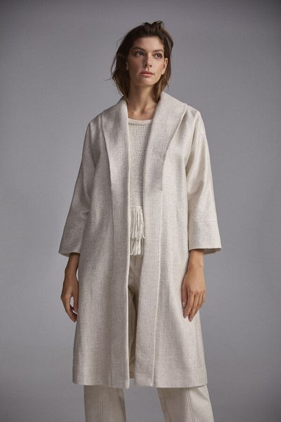 Oferta de Abrigo cuello solapa por 144€