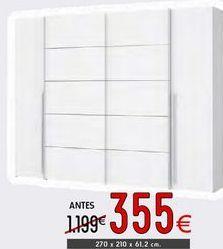 Oferta de Armarios por 355€