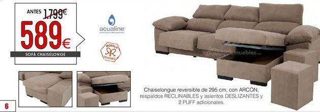 Oferta de Chaise longue por 589€