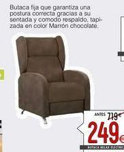 Oferta de Butaca relax por 249€