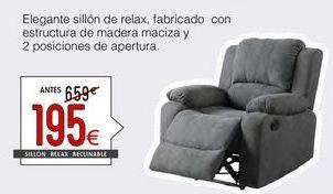 Oferta de Sillones por 195€