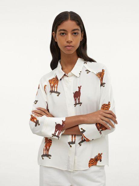 Oferta de Camisa Con Estampado De Animales por 29,99€