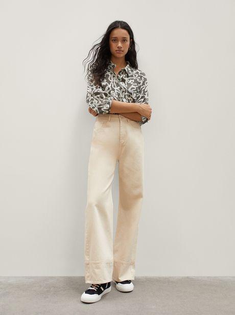Oferta de Camisa Oversize Estampada por 15,99€