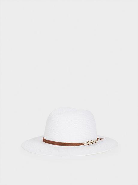Oferta de Sombrero Trenzado Con Conchas por 19,99€