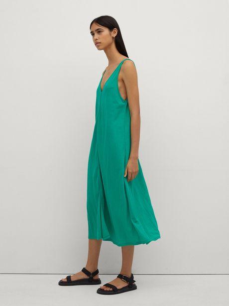 Oferta de Vestido De Tirantes Con Cuello De Pico por 22,99€