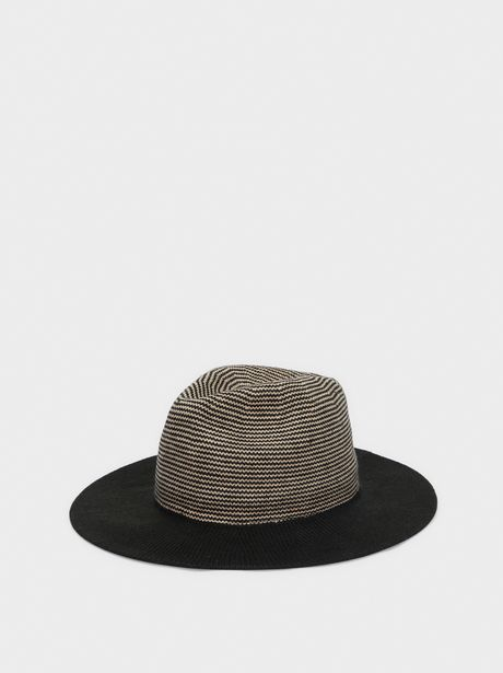 Oferta de Sombrero De Punto Detalles En Contraste por 9,99€