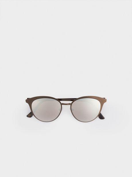Oferta de Gafas De Sol Metálicas Redondas por 17,99€