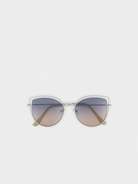 Oferta de Gafas De Sol Metálicas Cat Eye por 15,99€