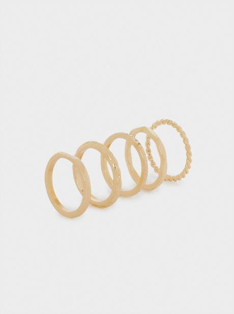 Oferta de Anillo Golden Basics por 6,99€