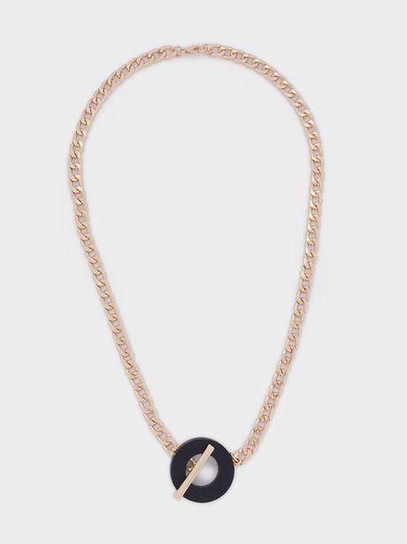 Oferta de Collar Cadena Corto Colgante por 5,99€