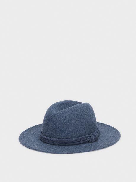 Oferta de Sombrero De Lana Cinta De Nudo por 12,99€
