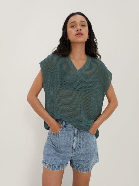 Oferta de Jersey De Punto Cuello Pico por 29,99€
