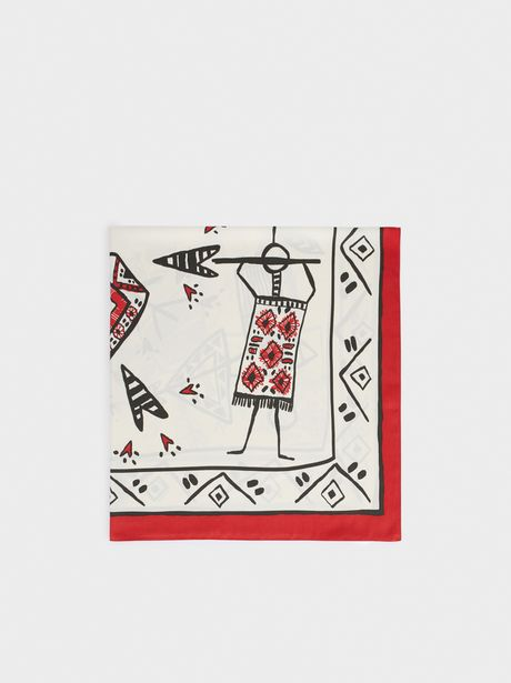 Oferta de Pañuelo Cuadrado Estampado por 19,99€