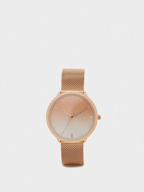 Oferta de Reloj De Pulsera Correa Malla Metálica por 12,99€