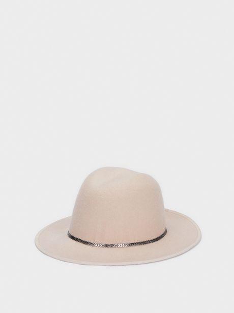 Oferta de Sombrero De Lana Cinta Combinada por 12,99€
