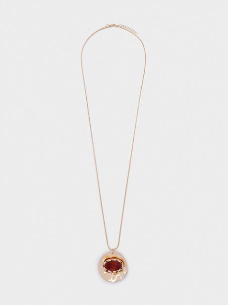 Oferta de Collar Largo Con Medallón por 4,99€