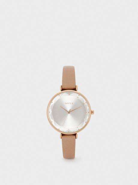 Oferta de Reloj Metálica Oro Rosado por 25,99€