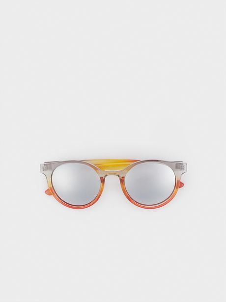 Oferta de Gafas De Sol Redondas Pasta por 6,49€