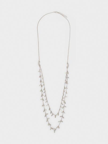 Oferta de Collar Largo Con Colgantes por 5,99€