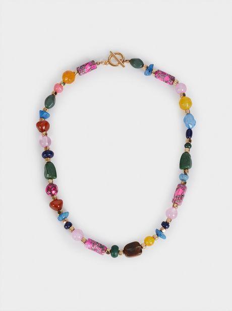 Oferta de Collar Corto Con Piedras por 5,99€