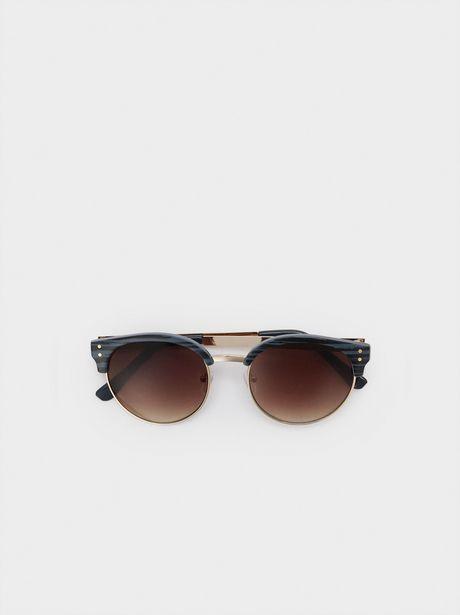 Oferta de Gafas De Sol Montura Redonda por 15,99€