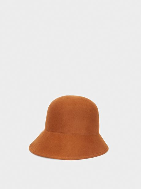 Oferta de Sombrero Cloche De Lana por 19,99€