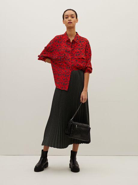 Oferta de Camisa Oversize Estampada por 25,99€