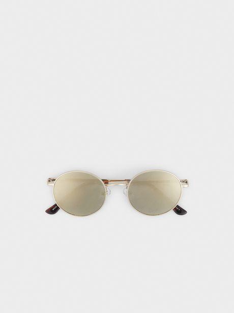 Oferta de Gafas De Sol Metálicas Redondas por 9,99€
