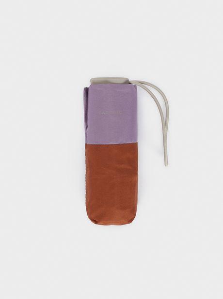 Oferta de Paraguas Plegable Pequeño Bicolor por 12,99€