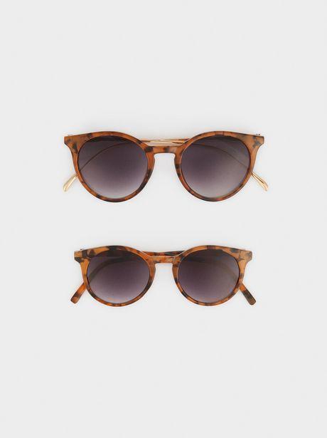 Oferta de Gafas De Sol Redondas Tortoise Mommy & Me por 14,99€