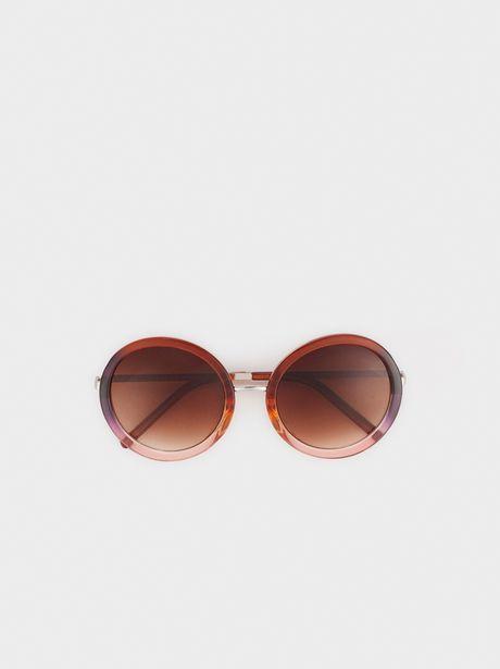 Oferta de Gafas De Sol De Pasta Redondas por 17,99€
