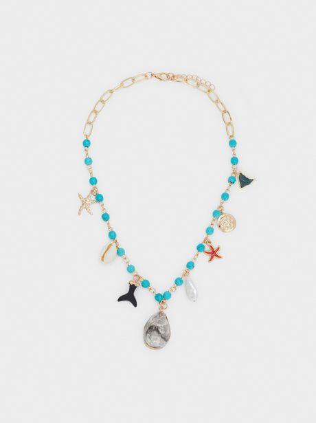 Oferta de Collar Largo Recife Abalorios por 12,99€